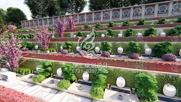 小型艺术墓区(一)设计方案