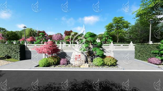 江西共青城公墓艺术墓区设计方案